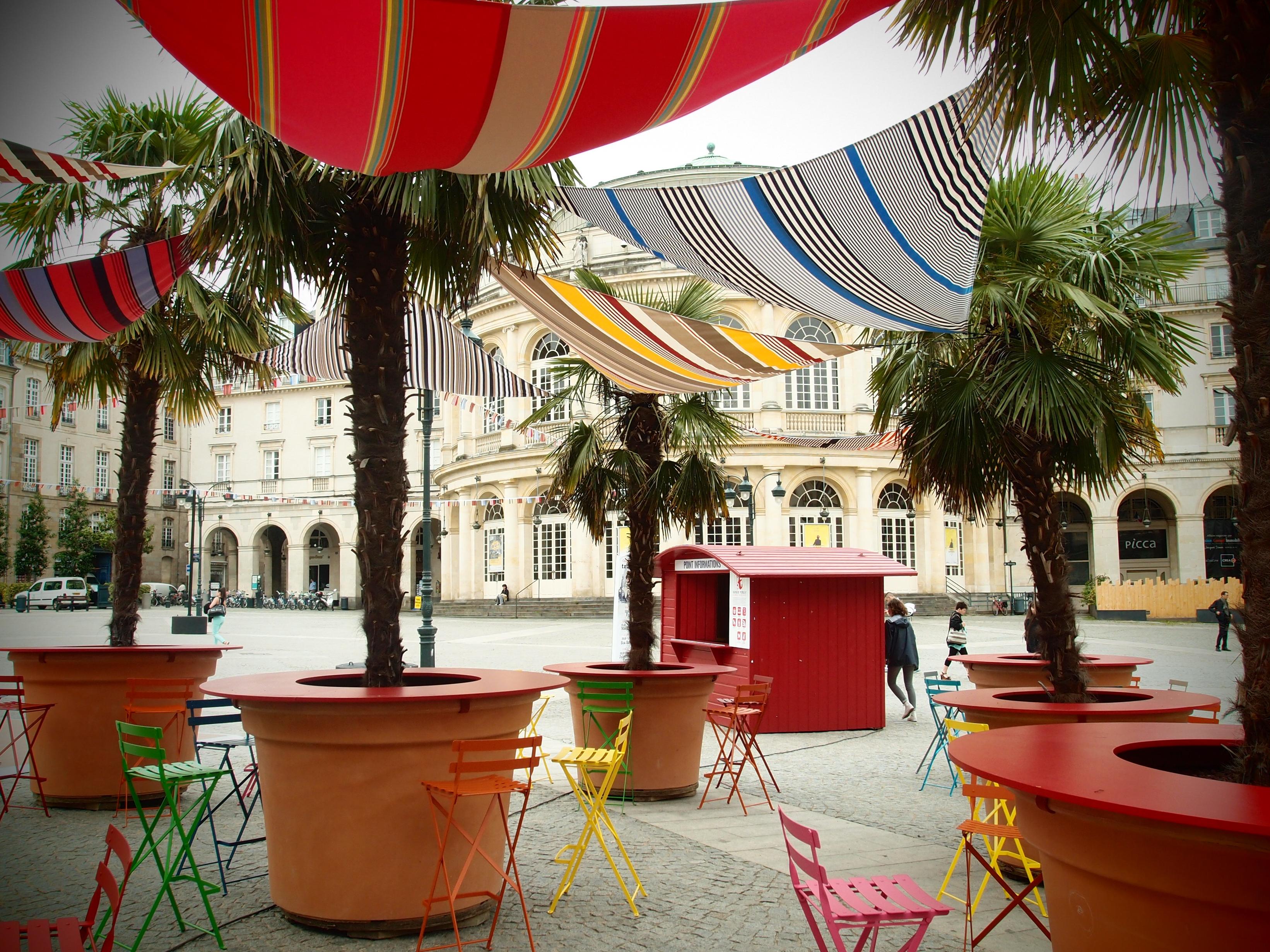 zarmine sceno transat en ville place de la mairie rennes florence audebert. Black Bedroom Furniture Sets. Home Design Ideas